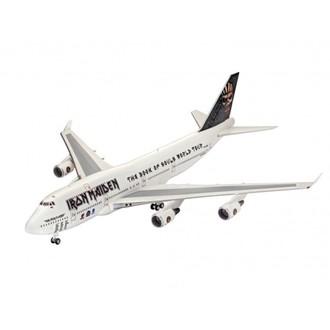 Modell Iron Maiden - Model Kit 1/144 Boeing 747-400, Iron Maiden