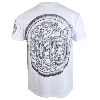 Herren T-Shirt ALISTAR - Viking After the Battle - weiß, ALISTAR