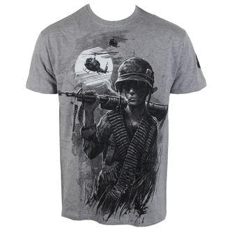 Herren T-Shirt ALISTAR - War is Hell - grau, ALISTAR