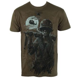 Herren T-Shirt ALISTAR - War is Hell - olive, ALISTAR