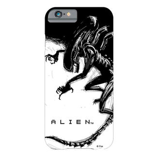 Handyhülle Alien - iPhone 6 - Xenomorph Black & White Comic, NNM, Alien - Vetřelec