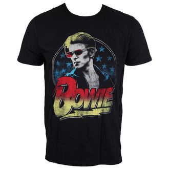 Herren T-Shirt David Bowie - Smoking - schwarz - LIVE NATION, LIVE NATION, David Bowie