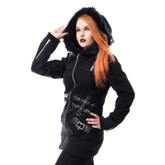 Damen Mantel HEARTLESS - SARA - SCHWARZ