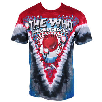 Herren T-Shirt The Who - Bally Table King Tie-Dye - LIQUID BLUE, LIQUID BLUE, Who