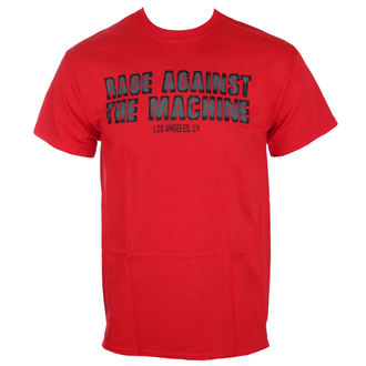 Herren T-Shirt Rage Against The Machine - Smashed Red - ATMOSPHERE, Rage against the machine
