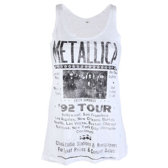 Damen Tanktop Metallica - 92 Poster White - ATMOSPHERE, Metallica