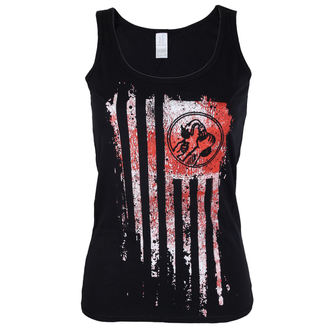 Damen Tanktop Rage Against The Machine - Molotov Flag - schwarz - ATMOSPHERE, NNM, Rage against the machine