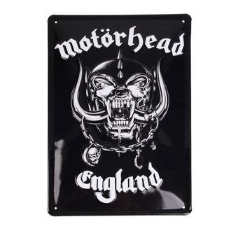 Schild Motörhead - Logo, NNM, Motörhead
