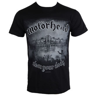 Herren T-Shirt Motörhead - Clean Your Clock B&W - ROCK OFF