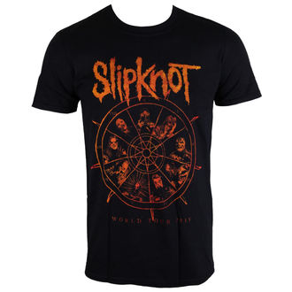 Herren T-Shirt Slipknot - The Wheel - ROCK OFF, ROCK OFF, Slipknot