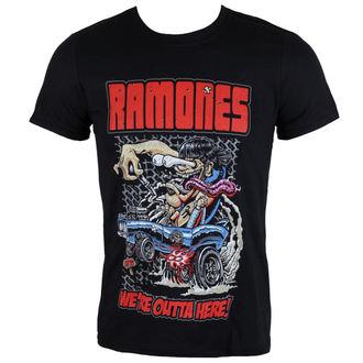 Herren T-Shirt Ramones - Outta Here - ROCK OFF, ROCK OFF, Ramones