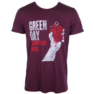Herren T-Shirt Green Day - American Idiot - ROCK OFF, ROCK OFF, Green Day