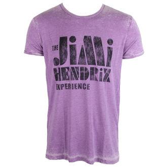 Herren T-Shirt Jimi Hendrix - Stencil Logo Vintage - ROCK OFF, ROCK OFF, Jimi Hendrix