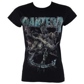 Damen T-Shirt Pantera - Vintage Rider - ROCK OFF, ROCK OFF, Pantera