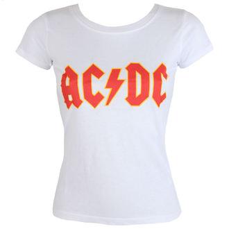 Damen T-Shirt AC / DC - Classic Logo - ROCK OFF, ROCK OFF, AC-DC