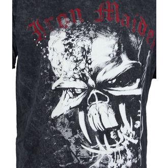 Herren T-Shirt Iron Maiden - FF Eddie Puff Illuminous - ROCK OFF, ROCK OFF, Iron Maiden