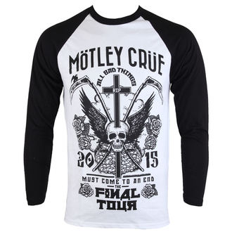 Herren Longsleeve Mötley Crüe - Final Tour Tattoo - ROCK OFF, ROCK OFF, Mötley Crüe