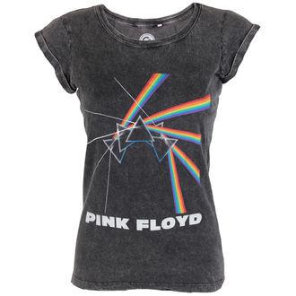 Damen T-Shirt Pink Floyd - Multi Logo Acid - ROCK OFF, ROCK OFF, Pink Floyd