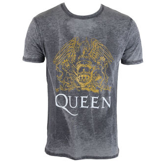 Herren T-Shirt Queen - Crest - ROCK OFF, ROCK OFF, Queen