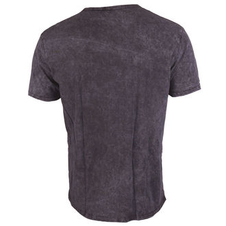 Herren T-Shirt Slash - Snowblind Acid Wash Puff Print - ROCK OFF