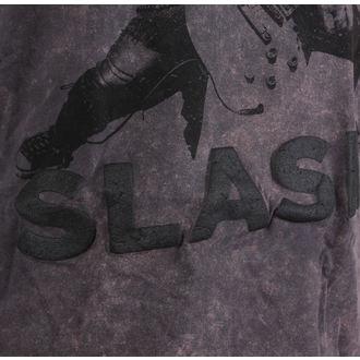 Herren T-Shirt Slash - Snowblind Acid Wash Puff Print - ROCK OFF, ROCK OFF, Guns N' Roses