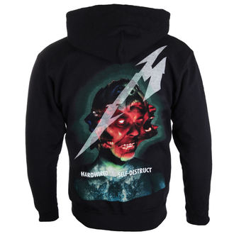 Herren Hoodie Metallica - Hardwired Album Cover - ATMOSPHERE, Metallica