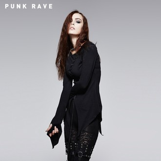 Damen Langarmshirt (Tunika) PUNK RAVE - Hypnosis, PUNK RAVE