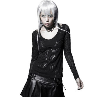 Damen T-Shirt mit langen Ärmeln PUNK RAVE - Black Metal, PUNK RAVE