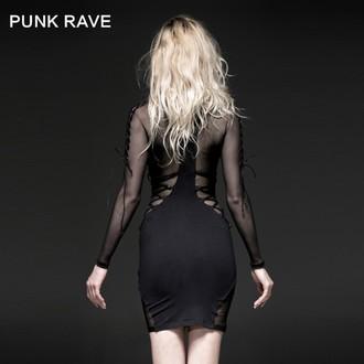 Damen Kleid PUNK RAVE - Fatal Kiss, PUNK RAVE