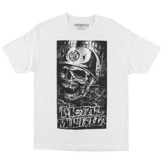 Herren T-Shirt METAL MULISHA - Shredded - FA6518026.01_WHT