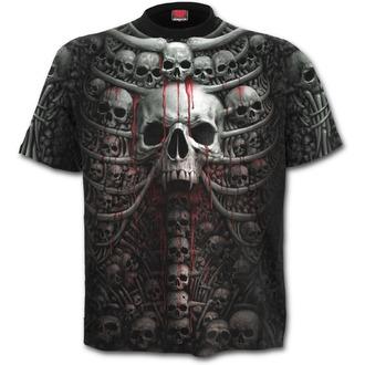 Herren T-Shirt SPIRAL - DEATH RIBS - Schwarz - plus SIZE, SPIRAL