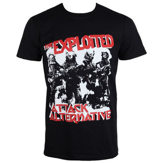 Herren T-Shirt Exploited - The Attack - PLASTIC HEAD