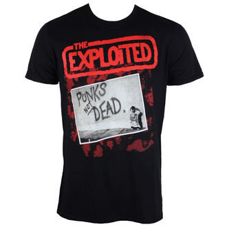 Herren T-Shirt Exploited - The Punks Not Dead - PLASTIC HEAD, PLASTIC HEAD, Exploited