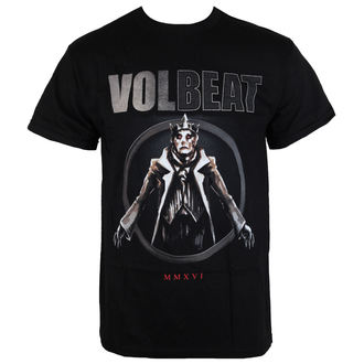 Herren T-Shirt Volbeat - RED KING-BLACK - BRAVADO, BRAVADO, Volbeat