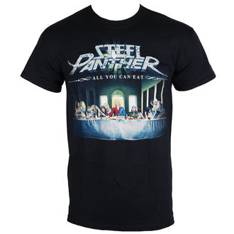 Herren Metal T-Shirt Steel Panther All You Can Eat PLASTIC HEAD RTSPR0108, PLASTIC HEAD, Steel Panther