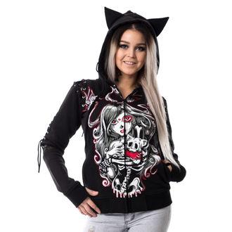 Damen Hoodie - CAT MUERTE - VIXXSIN - POI148