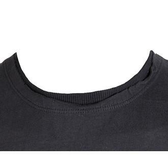 Herren T-Shirt KISS - LOGO - CHARCOAL - AMPLIFIED, AMPLIFIED, Kiss
