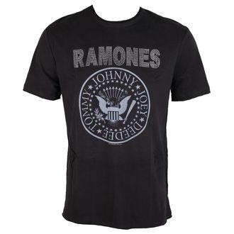 Herren T-Shirt Ramones LOGO AMPLIFIED AV210RLS, AMPLIFIED, Ramones