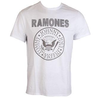 Herren T-Shirt Ramones LOGO AMPLIFIED AV210RLW, AMPLIFIED, Ramones