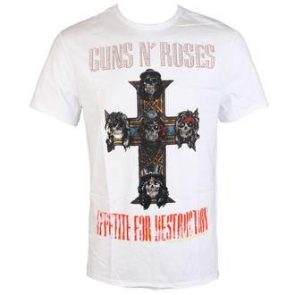Herren T-Shirt Guns N' Roses CLASSIC DIAMANTE AMPLIFIED AV210APS, AMPLIFIED, Guns N' Roses