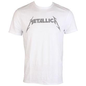 Herren T-Shirt Metallica BLACK LOGO DIAMANTE AMPLIFIED AV210MLB, AMPLIFIED, Metallica