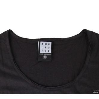 Damen Metal T-Shirt Kiss - CLASSIC LOGO CHARCOAL - AMPLIFIED, AMPLIFIED, Kiss