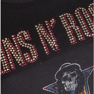 Metal T-Shirt Guns N' Roses - CLASSIC DIAMANTE - AMPLIFIED, AMPLIFIED, Guns N' Roses