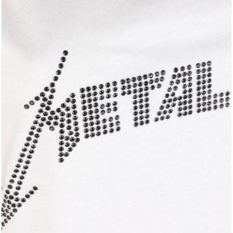 Damen Tanktop METALLICA - CLASSIC LOGO WHITE - AMPLIFIED, AMPLIFIED, Metallica