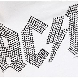 Damen Tanktop AC / DC - CLASSIC LOGO WHITE - AMPLIFIED, AMPLIFIED, AC-DC
