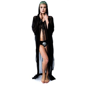 Damen Plaid KILLSTAR - Demoness Mesh Duster - KIL502