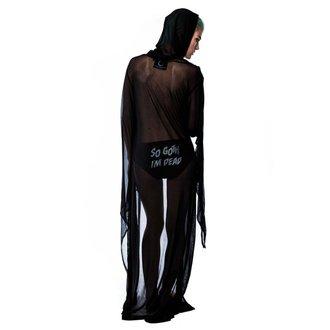 Damen Plaid KILLSTAR - Demoness Mesh Duster, KILLSTAR