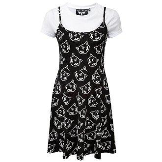 Damen Kleid KILLSTAR - Kitty Kult Purr Grunge - KIL432