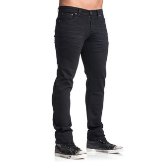 Herren Hose AFFLICTION - Gage Rising - Schwarz, AFFLICTION