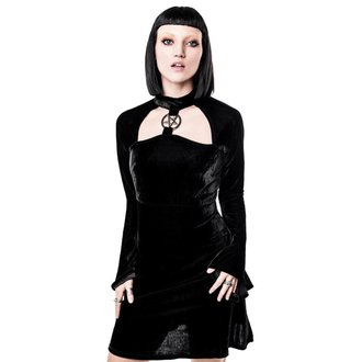 Damen Kleid KILLSTAR - Ziva Velvet, KILLSTAR